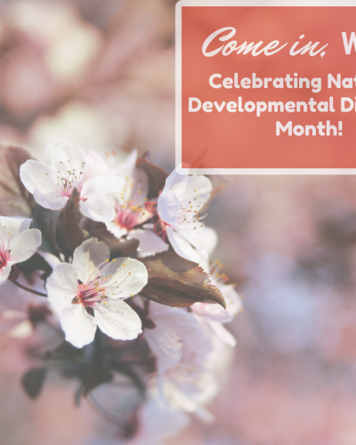 Celebrating National Developmental Disability Awareness Month